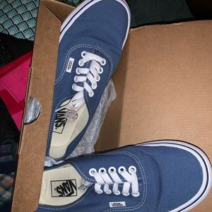Vans Authentic Skate Shoe - Navy